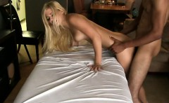 Riding a huge male rod