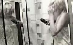 Homemade spy footage my blonde aunt