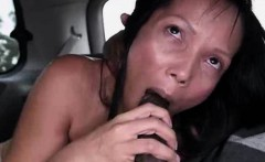 Latina Sucking Dick And Fucked In Backseat Of Van