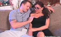 This great scene can show that passionate mature slut cock