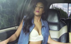 Ebony hitching amateur sucking dick