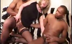 Christelle French Milf Gangbanged By Few Blacks Cocks