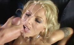 Nasty cum loving sluts in cumshot compilation getting creamed by Peter North