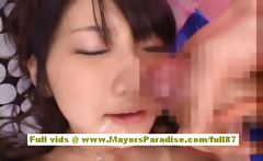 Yuki Aito asian babe gets pussy fucked and cumshoot