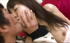 Hitomi Fujihara has her pussy pounded hard