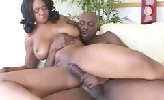 Black Big Titty Milf Riding Black Cock