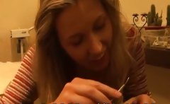 Naughty hairdresser ends up getting anal fucked by her