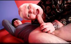 Fat blonde MILF Doctor Lucia sucks hard